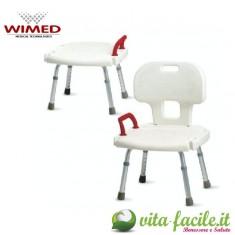 Sedia per doccia con schienale, 15501011, 60 €