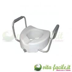 Rialzo per WC con braccioli amovibili