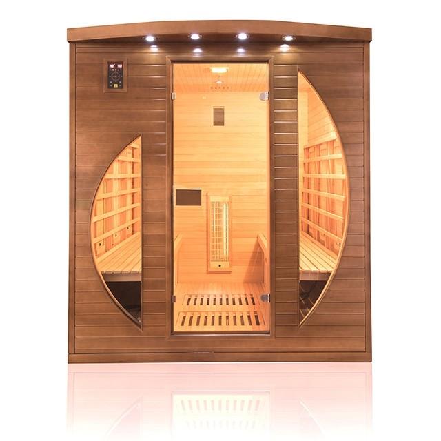 Sauna infrarossi 4 posti con emettitori combinati al Quarzo e Magnesio Spectra, spectra3, 4.290€