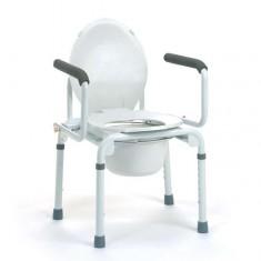 rialzo wc con braccioli reclinabili