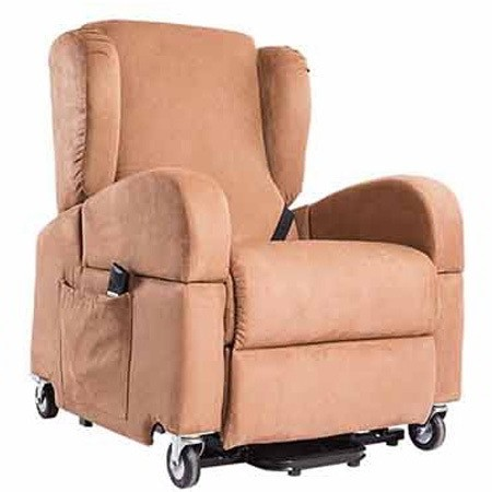 Poltrone Per Disabili Con Ruote.Poltrona Per Disabili Elettrica Con Braccioli Rimovibili E Ruote Life