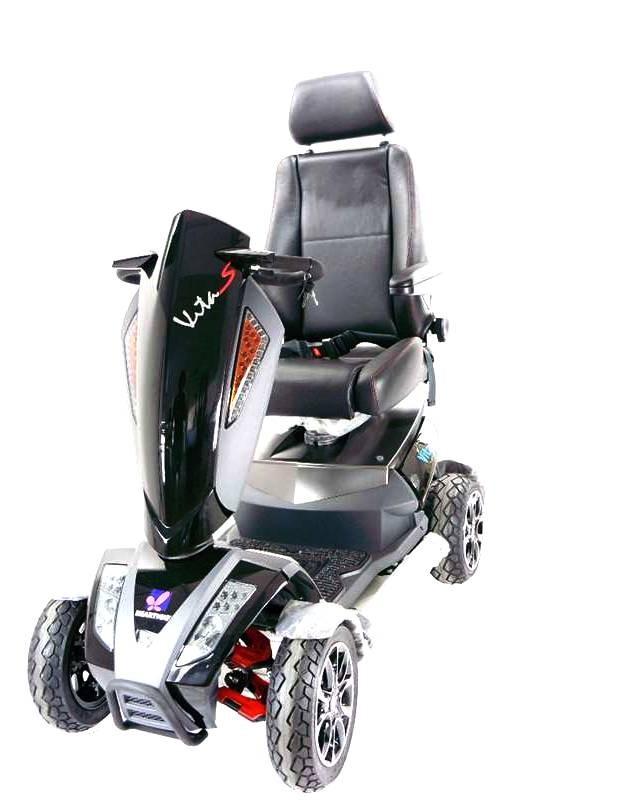 vista anteriore dello scooter elettrico per anziani S12 Sport