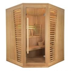 Sauna angolare Finlandese Design Holl's Venetian 3/4 posti, Venetian 3/4 posti angolare, 2.699€