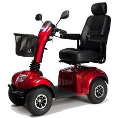 scooter elettrico per anziani Nuovo Ceres SE rosso