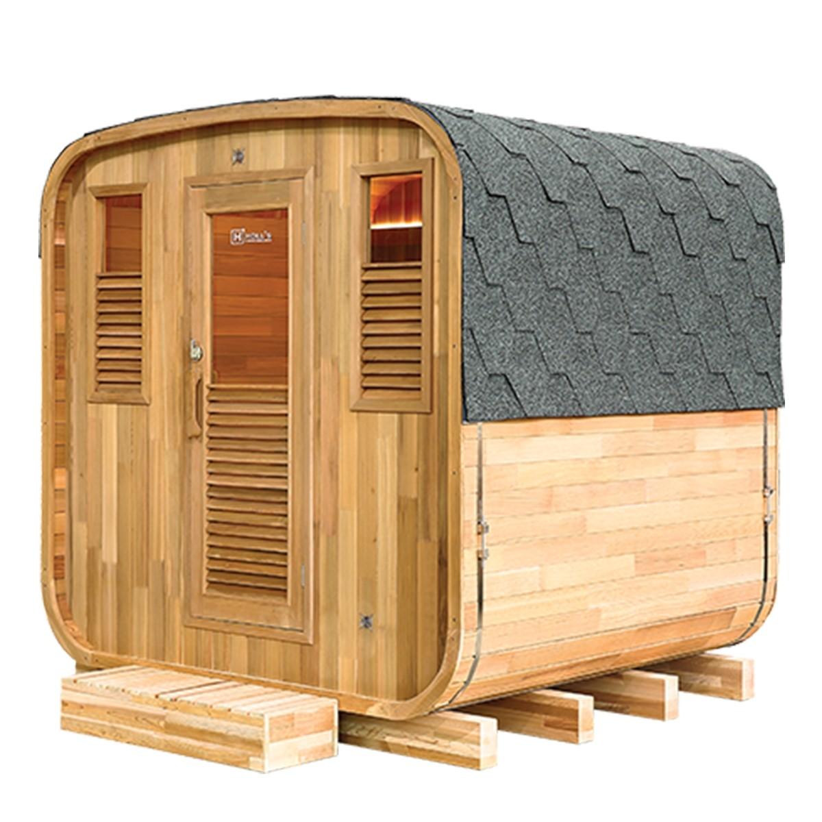 Sauna Finlandese da Esterno Holl's Gaia 6 posti, gaia6, 9.699 €