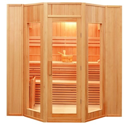 Sauna Tradizionale Finlandese in Abete 5 posti Ten 200 x 208, SN-ZEN-5, 4.499 €
