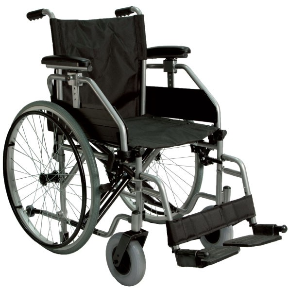 Sedia a rotelle per disabili pieghevole ad autospinta psdb for Larghezza sedia a rotelle