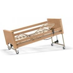 Letto da degenza elettrico con struttura in legno per anziani e disabili - Mod. Siesta, le1-f, 1.279€