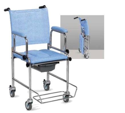 sedia comoda con ruote