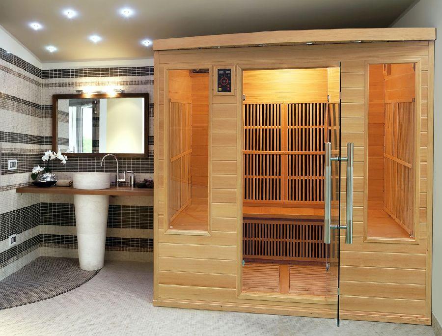 sauna infrarossi 3 posti