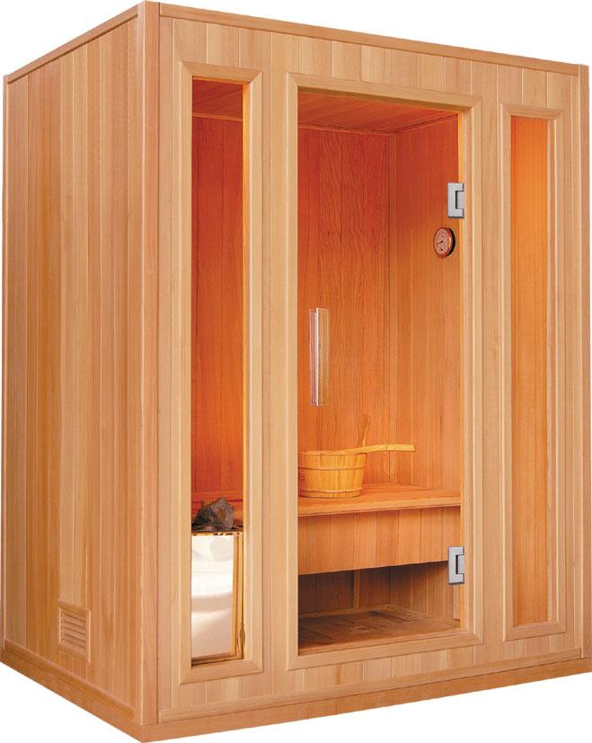 sauna finlandese 3 posti