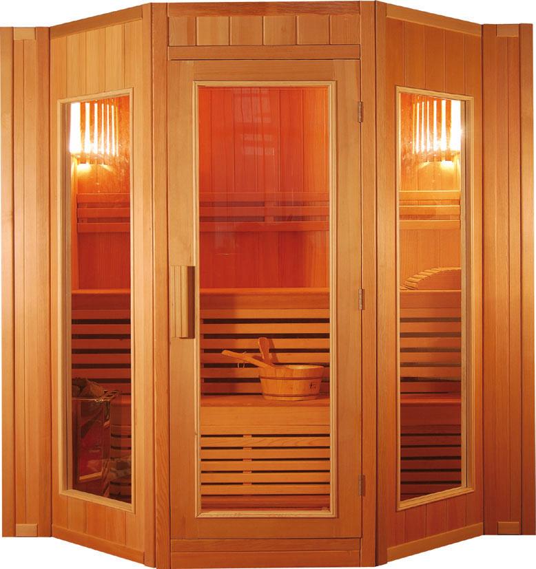 sauna finlandese 5 posti