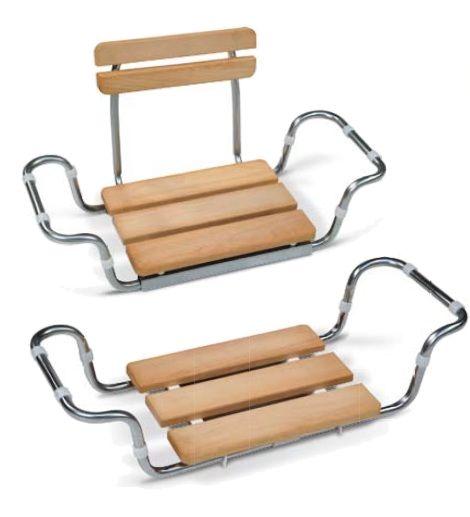 sedile in legno per vasca da bagno
